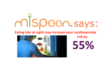 #mispoon says:eating late at night may increase your cardiovascular risk by 55%