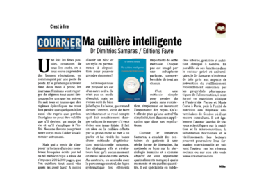 Article sur #ma_cuillère_intelligente, publié @Courier Lavaux-Oron-Jorat  le Jeudi 08.02.2018