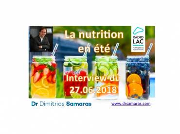 La nutrition intelligente en été