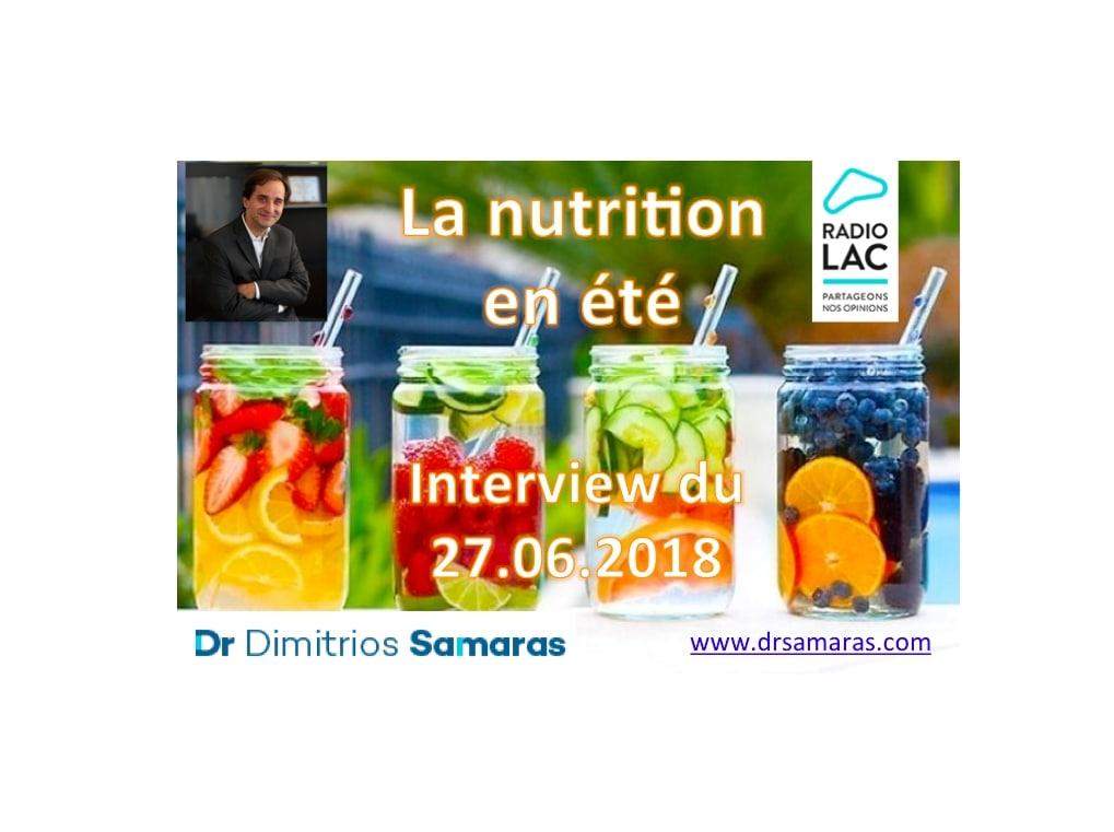 La nutrition intelligente en été