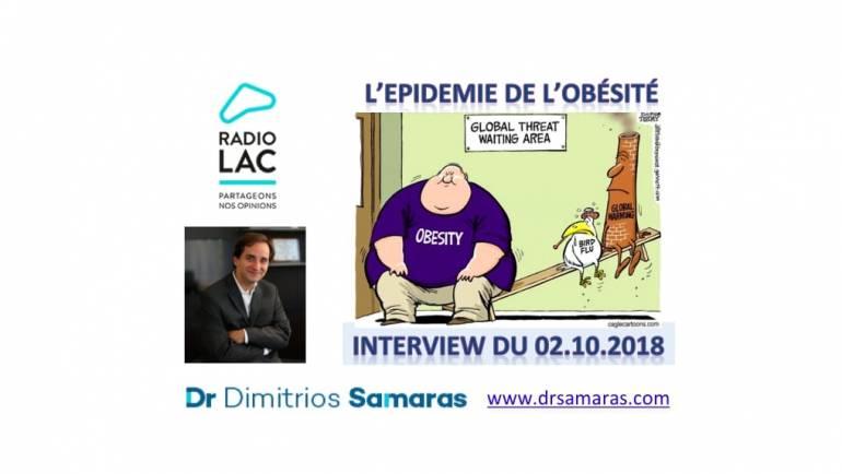 L'épidémie de l'obésité. Radio Lac, 02.10.2018