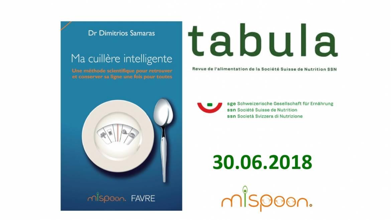 Ma Cuillère Intelligente, Tabula 30.06.2018