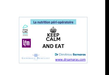 La nutrition péri-opératoire, 26 février Radio Lac-LFM