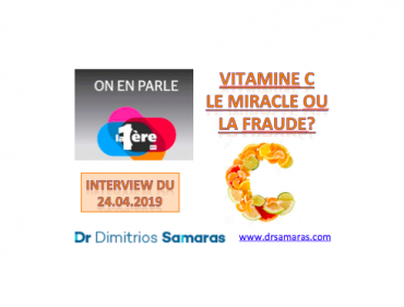 Vitamine C: Le Miracle ou la fraude? 24.04.2019, On En Parle à la RTS