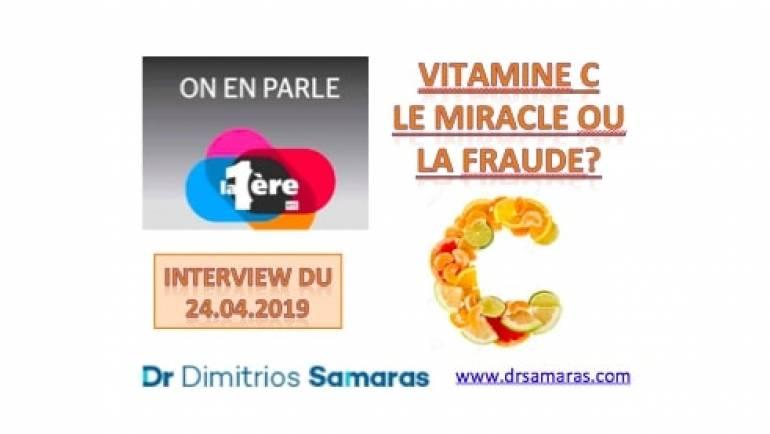 Vitamine C: Le Miracle ou la fraude? 24.04.2019, On En Parle à la RTS