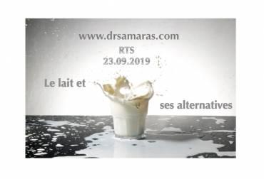 Le lait et ses alternatives, Futur antérieur-RTS, 23.09.2019